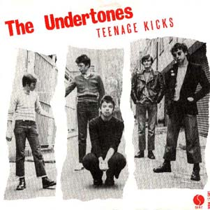 The Undertones; Teenage Kicks Single Artwork