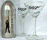 Really Classy James Bond Martini Kit