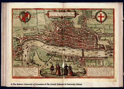 A map of London, though quite an old one